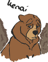brother bear kenai by karlijnlovesart