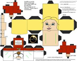 Heroes1: Claire Bennet Cubee by TheFlyingDachshund