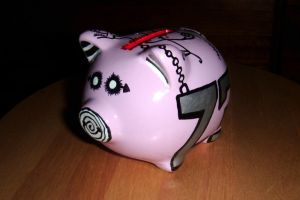 The Pig-NNY Bank by ParamourxLights