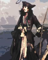 Captian Jack Sparrow by xaharah