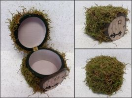 Lord of the Rings Hobbit Hole trinket box by otaku-jrock