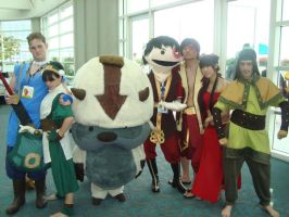 Some Epic Avatar Cosplayers by k3k4