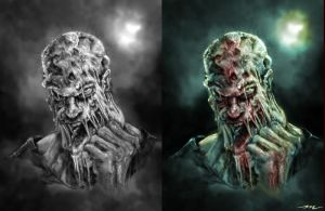 Zombie Concept by MookFall