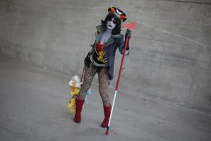 1 4M TH3 L4W - Terezi Militarystuck cosplay by Voldiesama