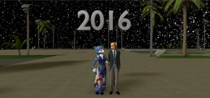 Happy New Year 2016 by HectorNY