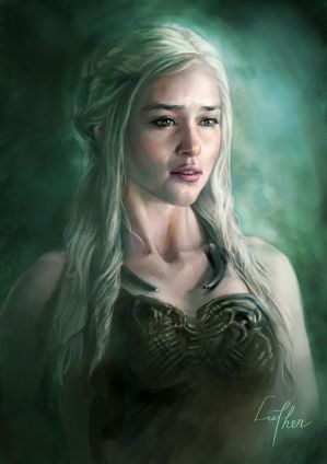 Daenerys Targaryen by blackwings736