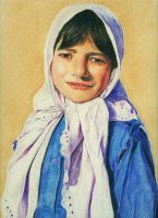 A Pakistani Girl by MadcatCC