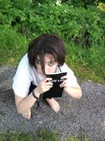 L Lawliet [cosplay] by Naitsumi