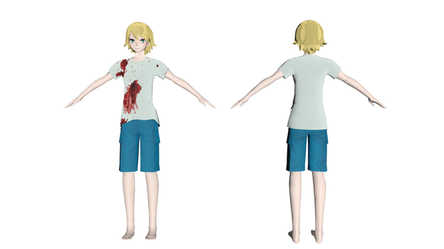 (New model) Knocking James by MMD1lover1
