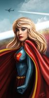 Supergirl by ismaelArt