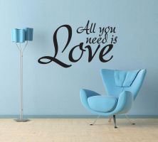 All You Need is Love No 4 by GeekeryMade