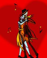 Jack and Sally_Dance of Love by HollyBecker
