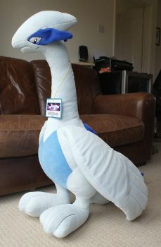 Giant Lugia Plush for Sale! by Articuno