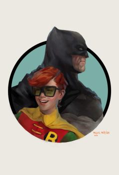 Bruce and Carrie by merkymerx