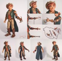 Rover Finnigan Action Figure by chill13