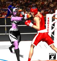 Mixed boxing 2 - The night elf strikes back by mysticx1