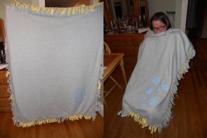 Derpy Hooves Blanket by HiMyNameIsNickel