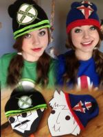 X-Ray and Vav beanies! by Pathlon