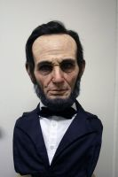 Abraham Lincoln - bust by schellstudio