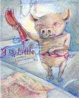 Little Market Piggy by miorats