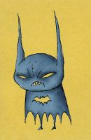 Little Batman by pezbananadesign