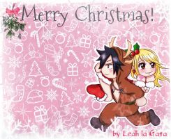 GrayLu ***Merry Christmas*** by Leah-la-Gata