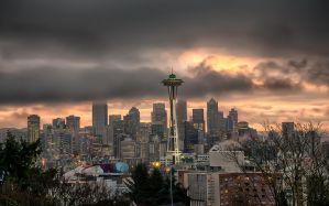 Seattle Sunrise by o0oLUXo0o