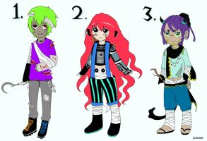 Adoptables set OPEN name your price by AleKaiLin