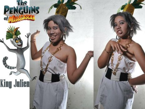 King Julien of Madagascar by ruannia