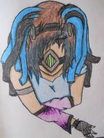Cyber Goth Girl 2 by Deathkidsouleater94