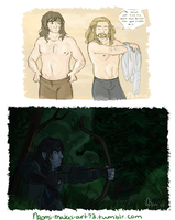 Mostly Kili. by naomi-makes-art73