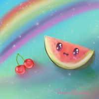 My lil' watermelon by ShadowsRomance
