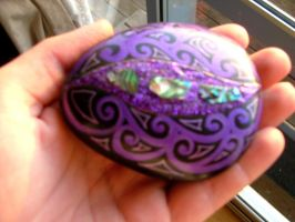 Painted stone by Ziblink