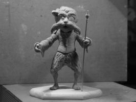 labyrinth Sir Didymus sculpture by yotaro76