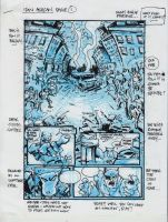 IDW TMNT One Page One by Kevineastman