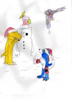 On the 4th day of Christmas... by CherubimonX