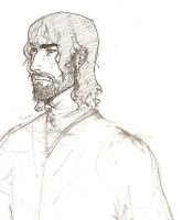 Sandor Clegane sketch by hedgehog-in-snow