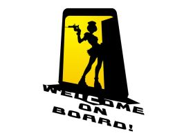 welcome on board by CHIN2OFF