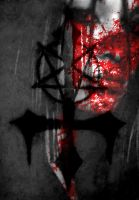 Inverted Cross by satanicsadness