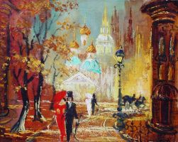 Old Moscow by LanaAlex
