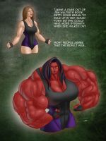R34 Thursdays - Red She-Hulk by MoxyDoxy