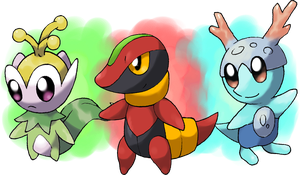 New Starters by Hyshirey