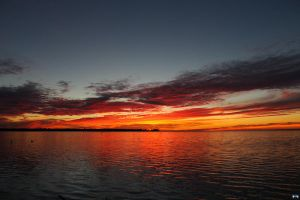 Fall Sunset Series #100 by LifeThroughALens84