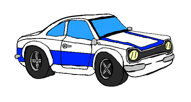 Ford Escort MKI RS2000 by TheEvstar