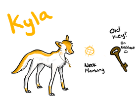 Official Kyla Ref by SprayPaintHavoc