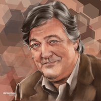 Stephen Fry by dankershaw