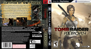 PS3 Tomb Raider Reborn Custom by StarfireEspo