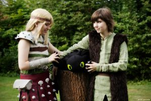 HTTYD - Hiccup and Astrid by Kida-Takashi
