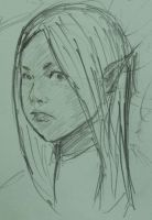 elf head doodle by china101