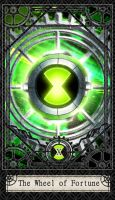 Ben 10 Tarot- 10. The Wheel of by CheshireP